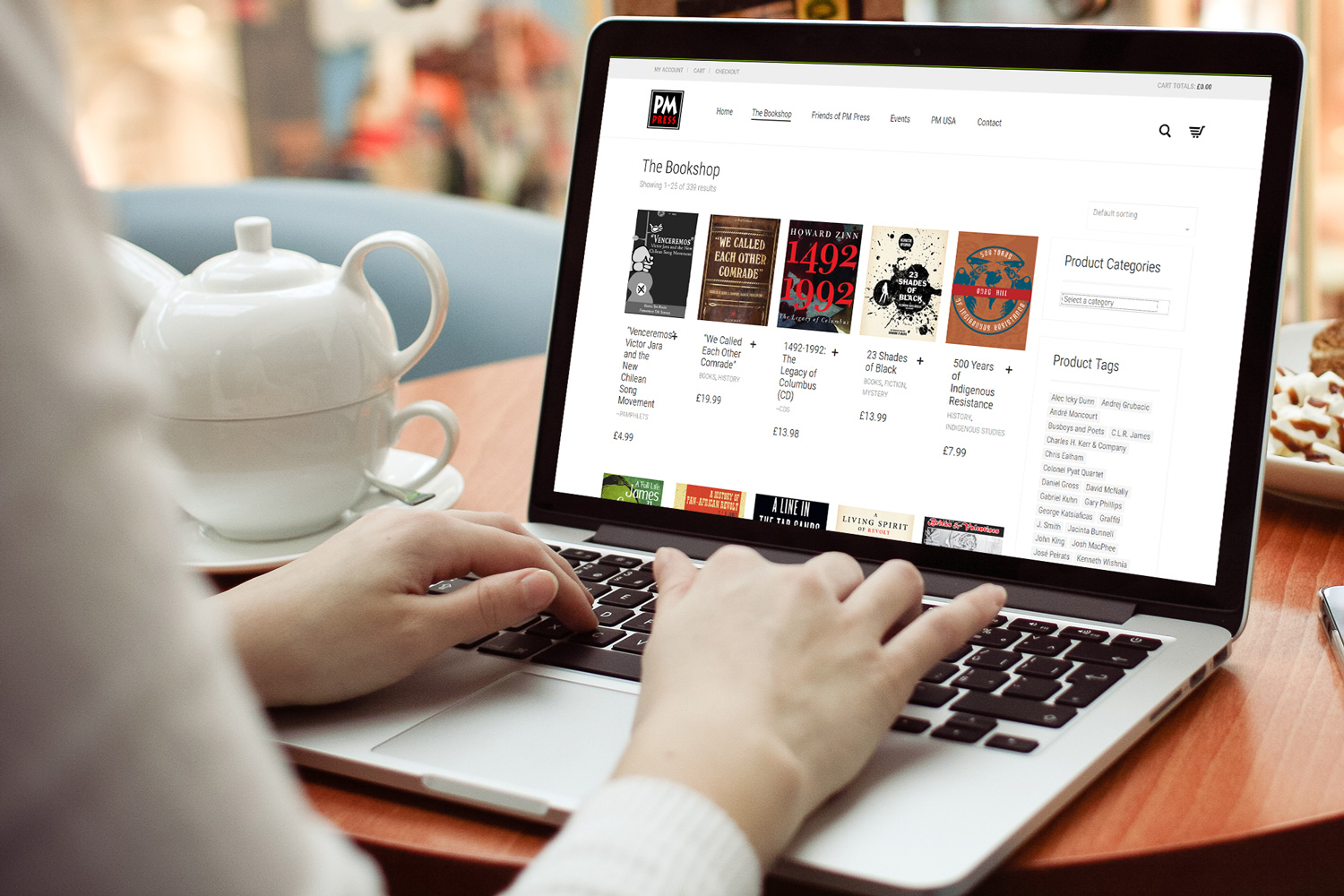 e-commerce for bookshop
