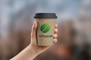 coffee cup logo design