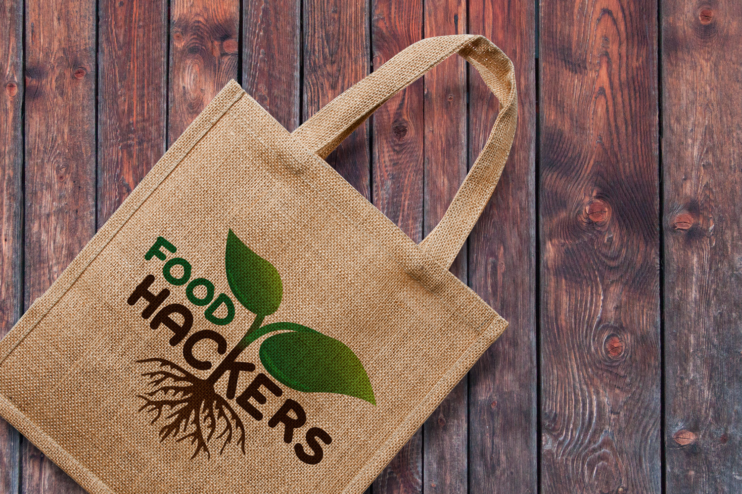 logo on eco bag